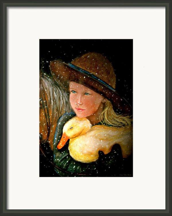 Hayden Framed Print By Susan Elise Shiebler