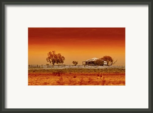 Hazy Days Framed Print By Holly Kempe