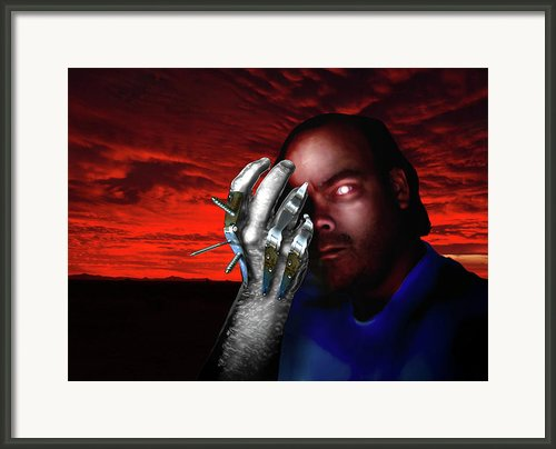 He Rules With An Iron Hand Framed Print By Steven Love