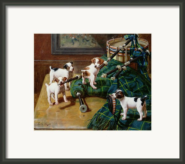 He Who Pays The Piper Calls The Tune Framed Print By John Hayes