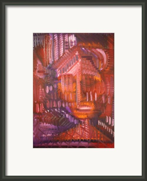 Head 4 Framed Print By Michael Kulick