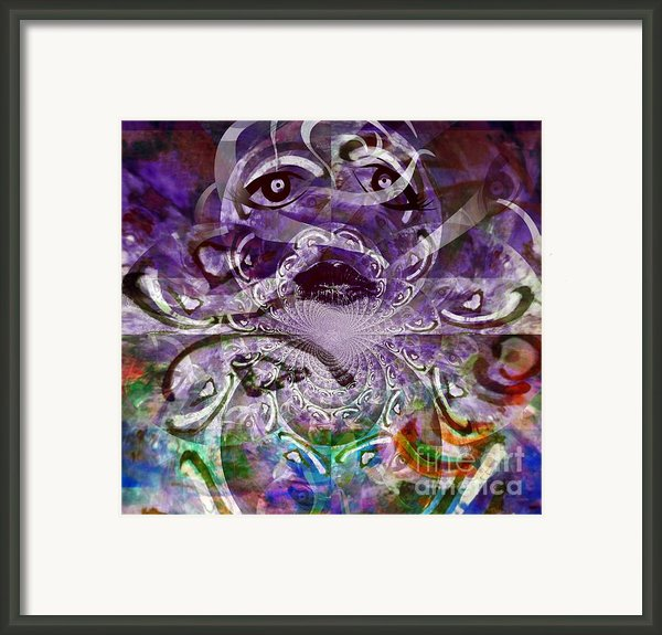 Healing - A Manifestation Of Faith Framed Print By Fania Simon