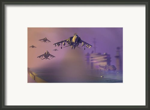 Heat Wave Framed Print By Dieter Carlton