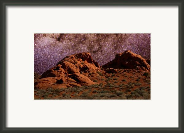 Heaven And Earth Framed Print By Charles Warren