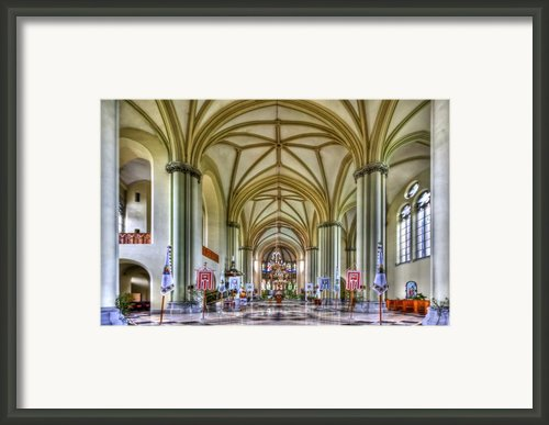 Heavenly Framed Print By Evelina Kremsdorf
