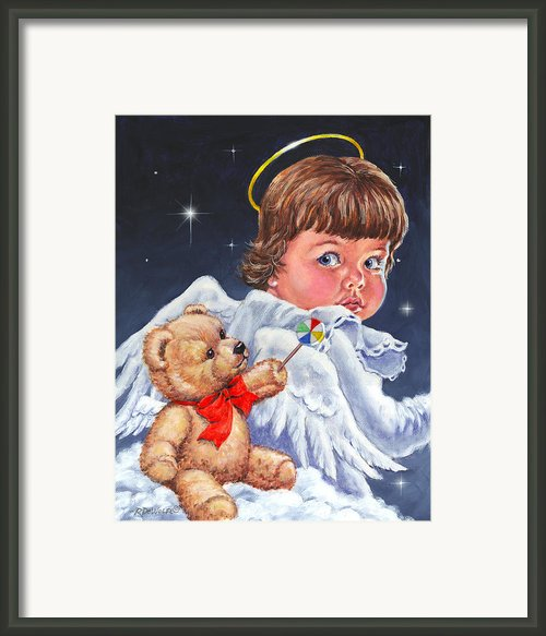 Heavenly Framed Print By Richard De Wolfe