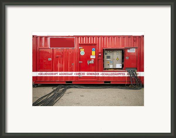 Heavy Duty High Power Industrial Framed Print By Corepics