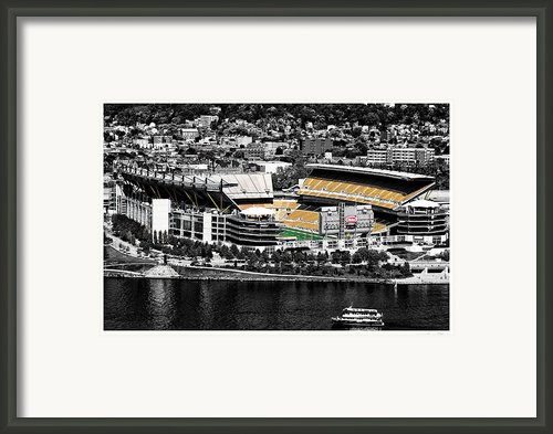 Heinz Field Framed Print By Scott  Wyatt