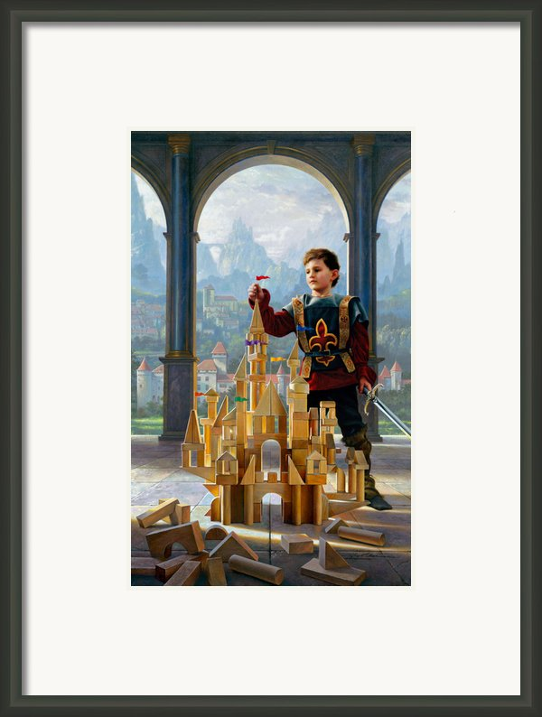 Heir To The Kingdom Framed Print By Greg Olsen