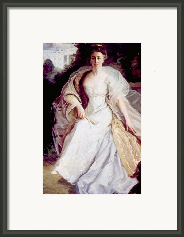 Helen Taft 1861-1943, First Lady Framed Print By Everett