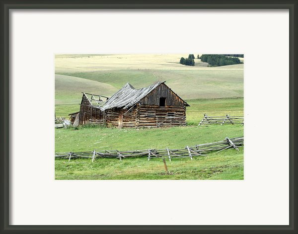 Helena Ranch Framed Print By Marty Koch