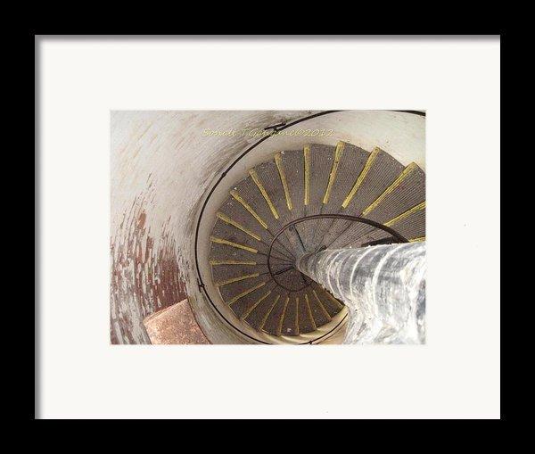 Helical Stairway Framed Print By Sonali Gangane