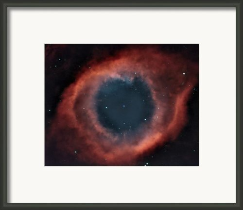 Helix Nebula Framed Print By Charles Warren