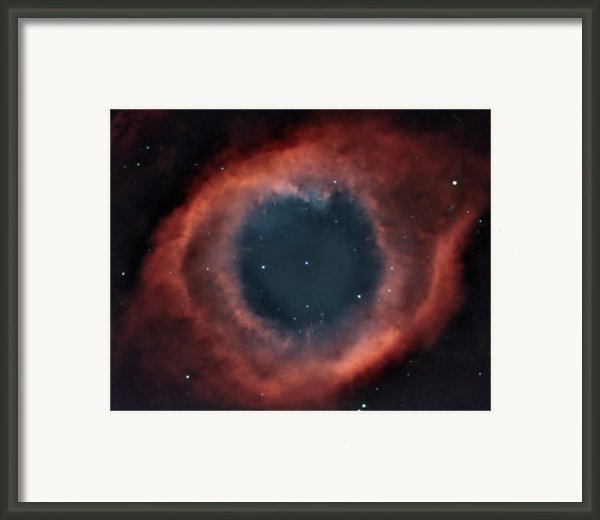 Helix Nebula Framed Print By Charles Warren