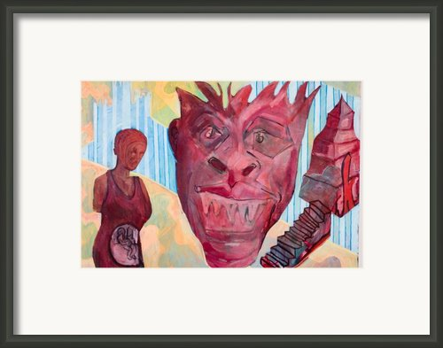 Hell In A Handbag Framed Print By Chad Cortez Everett
