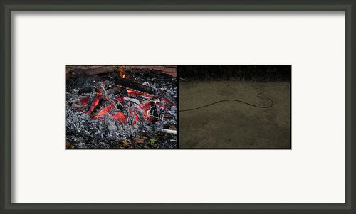 Hell Framed Print By James W Johnson