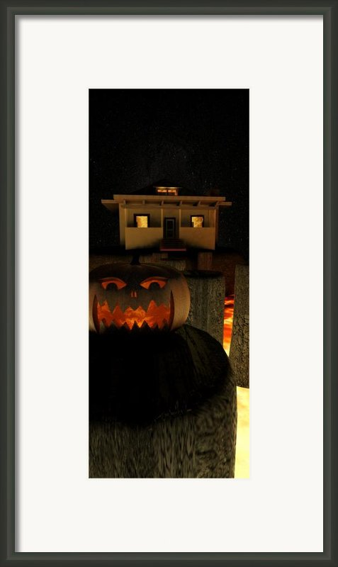 Helloween Framed Print By James Barnes