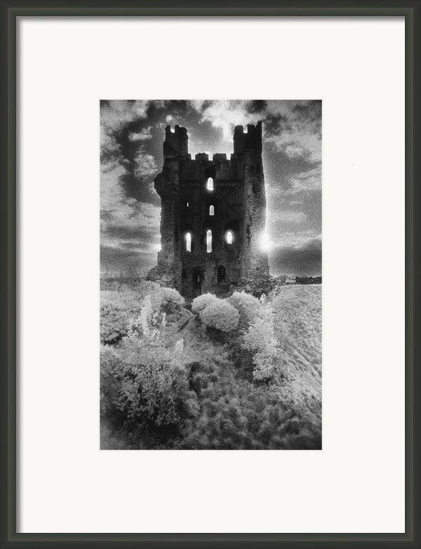 Helmsley Castle Framed Print By Simon Marsden