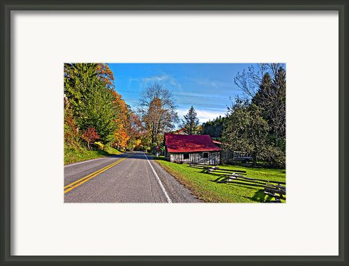 Helvetia Wv Framed Print By Steve Harrington