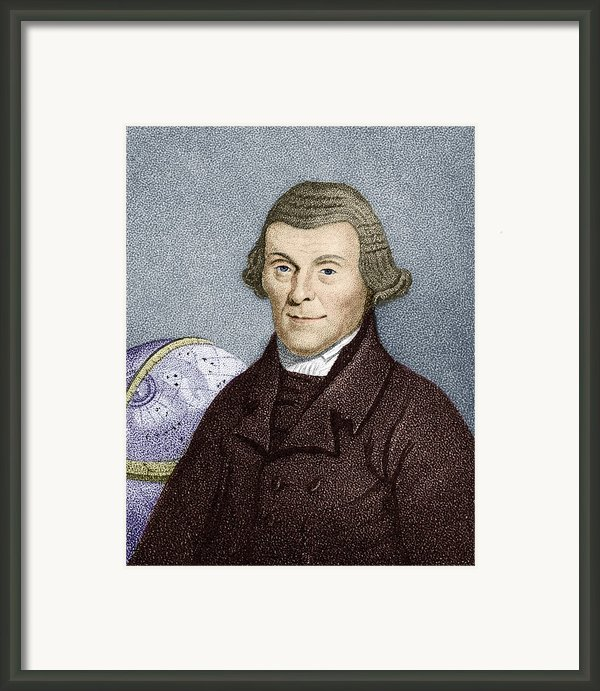 Henry Andrews, English Astronomer Framed Print By Sheila Terry