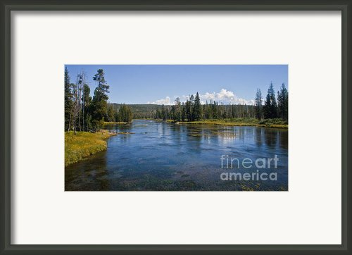 Henry Fork Of Snake River Framed Print By Robert Bales