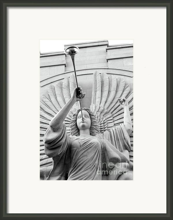 Herald Angel Framed Print By Jeannie Burleson