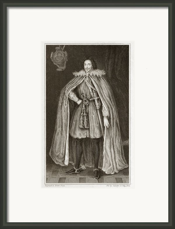 Herbert Of Cherbury, English Philosopher Framed Print By Middle Temple Library