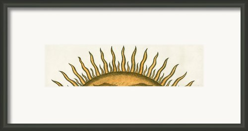 Here Comes The Sun Framed Print By Charles Harden