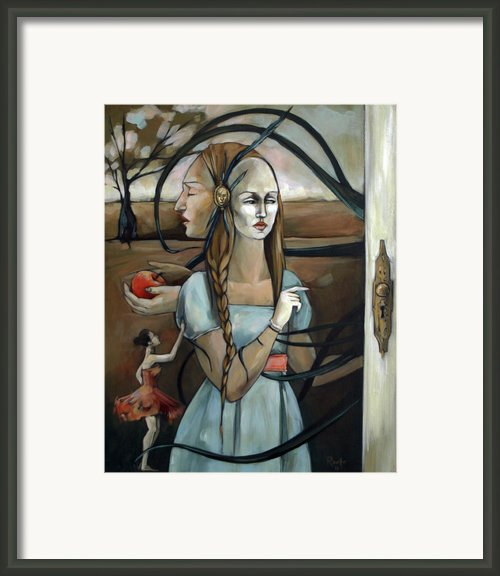 Here There Be Monsters Framed Print By Jacque Hudson-roate