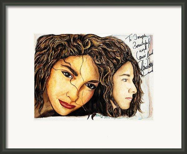 Here We Are Framed Print By Joseph Lawrence Vasile