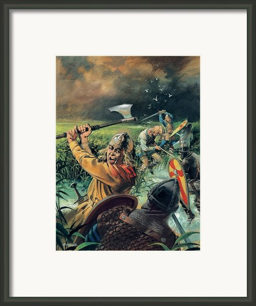 Hereward The Wake Framed Print By Andrew Howat