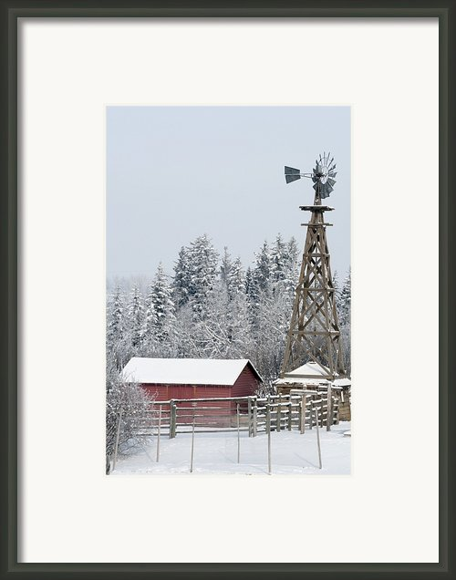 Heritage Park Historical Village Framed Print By Michael Interisano