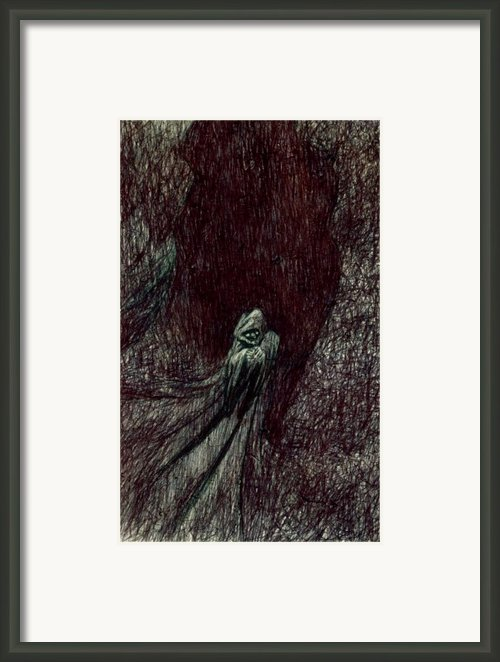 Hermit Framed Print By Kd Neeley