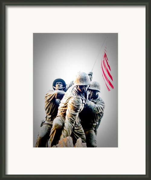 Heroes Framed Print By Julie Niemela