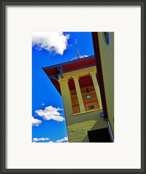 Herron Hill Winery  Framed Print By Elizabeth Hoskinson
