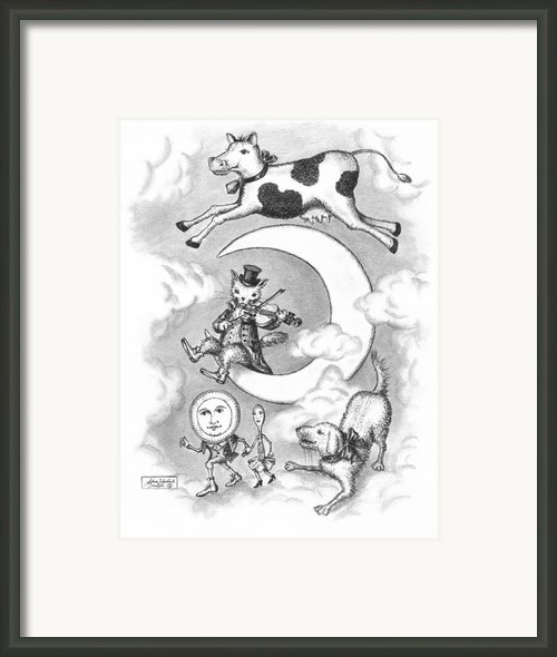 Hey Diddle Diddle Framed Print By Adam Zebediah Joseph