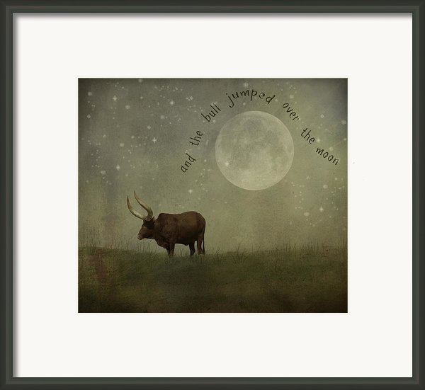 Hey Diddle Diddle  Framed Print By Juli Scalzi