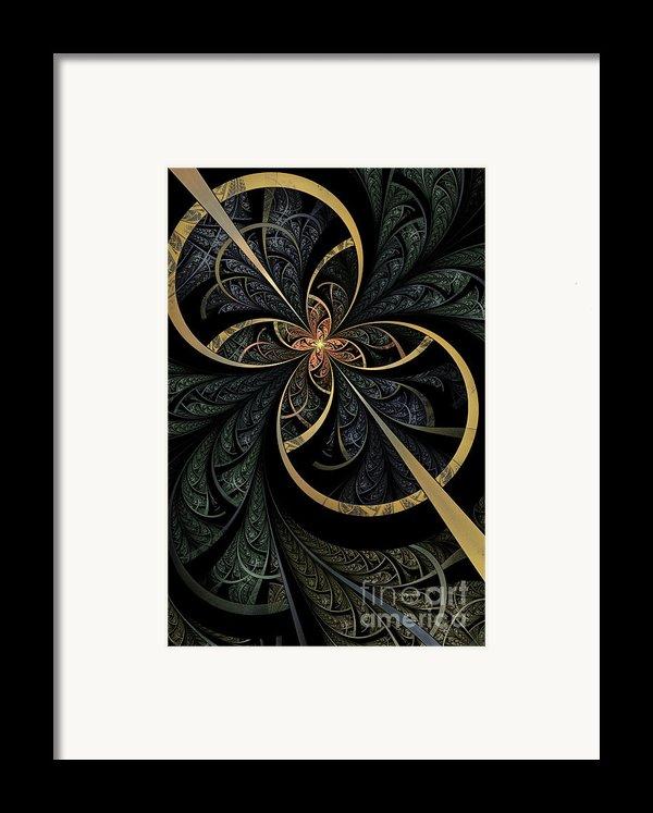 Hidden Depths Framed Print By John Edwards