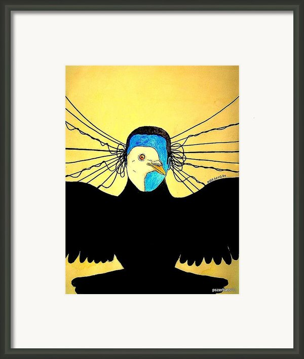 Hidden Face Of Prisons Framed Print By Paulo Zerbato