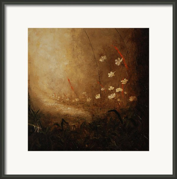 Hidden Path Framed Print By Debra Houston