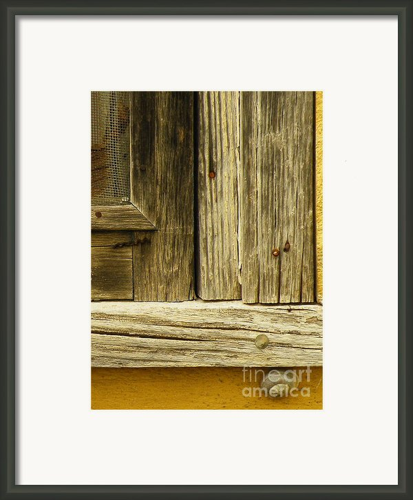 Hideout Framed Print By Joe Jake Pratt