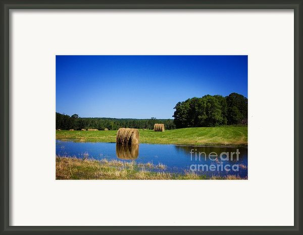 High And Dry On The North Forty Framed Print By The Stone Age
