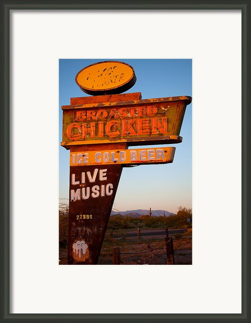 Highway Mirage Framed Print By Jephyr Art