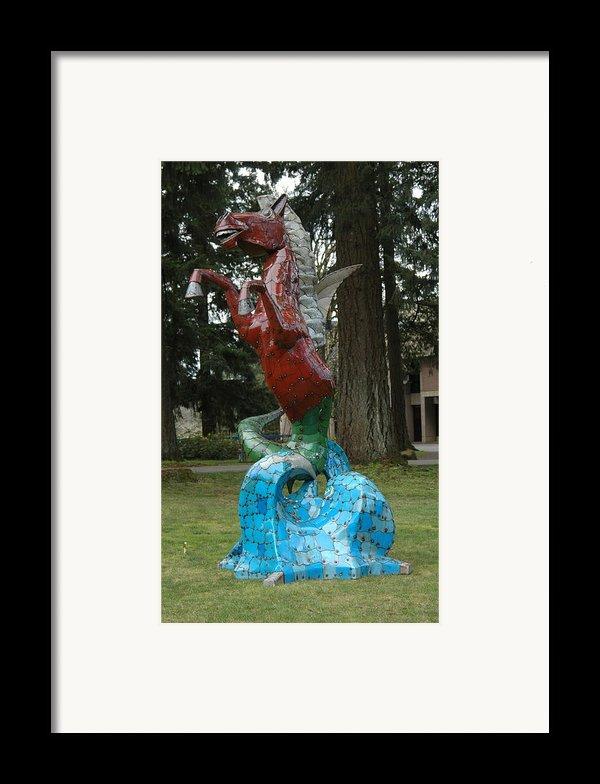Hippocampus Framed Print By Ben Dye