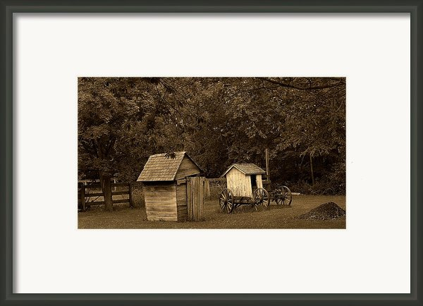 His And Hers Framed Print By Scott Hovind