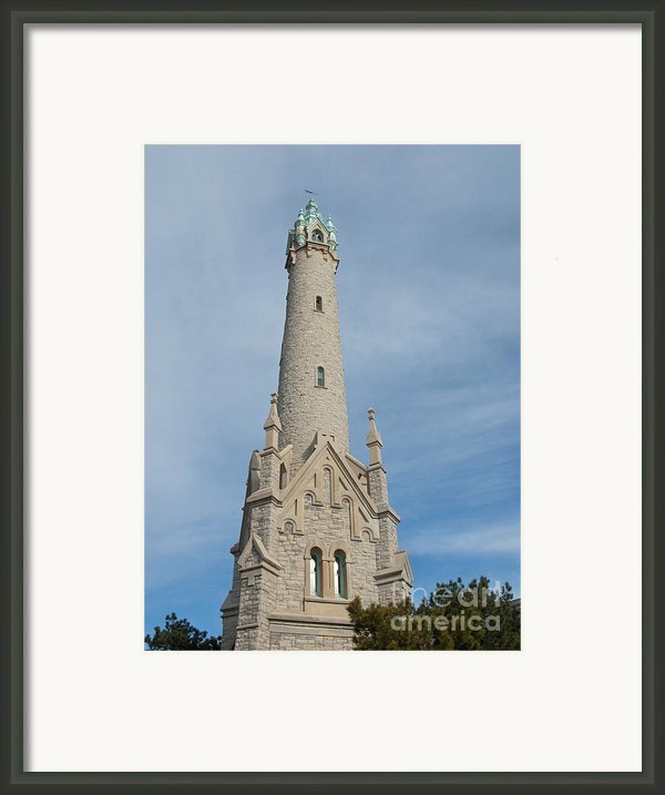 Historic Milwaukee Water Tower Framed Print By Ann Horn