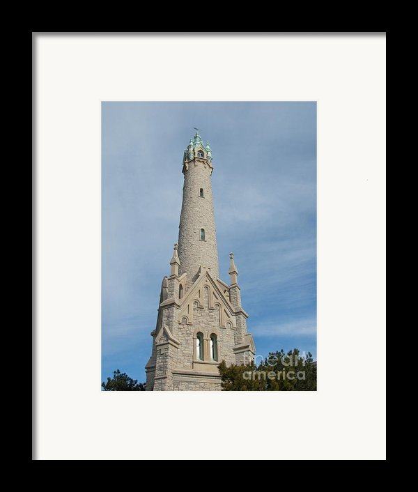 Historic Milwaukee Water Tower Framed Print By Ann Horn