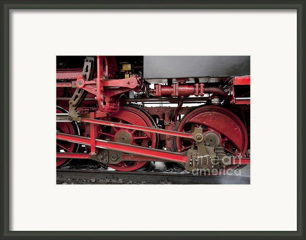 Historical Steam Train Framed Print By Heiko Koehrer-wagner
