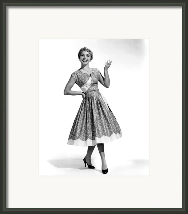 Hit The Deck, Jane Powell, 1954 Framed Print By Everett