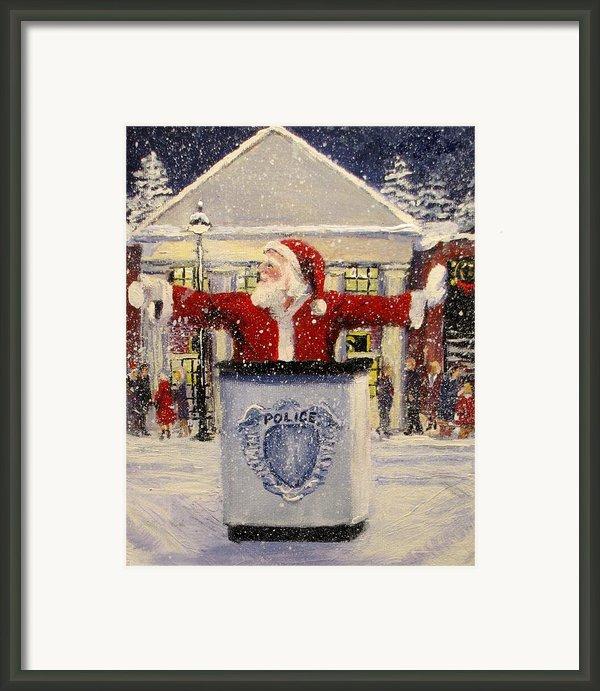 Ho Ho Go... Framed Print By Jack Skinner